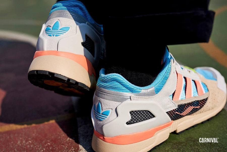 Adidas Consortium ZX 10000 C Blue Orange (3)