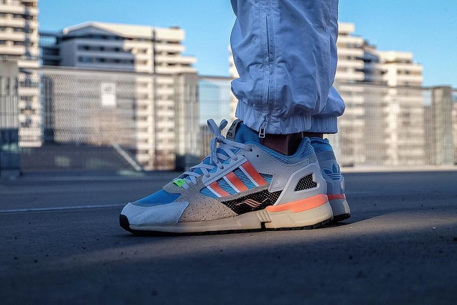 Adidas Consortium ZX 10000 C Blue Orange (4)
