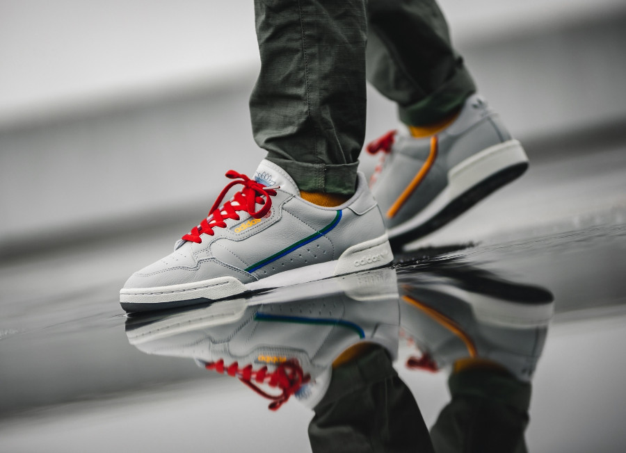 Adidas Continental 80 Console Grey Two Multicolor