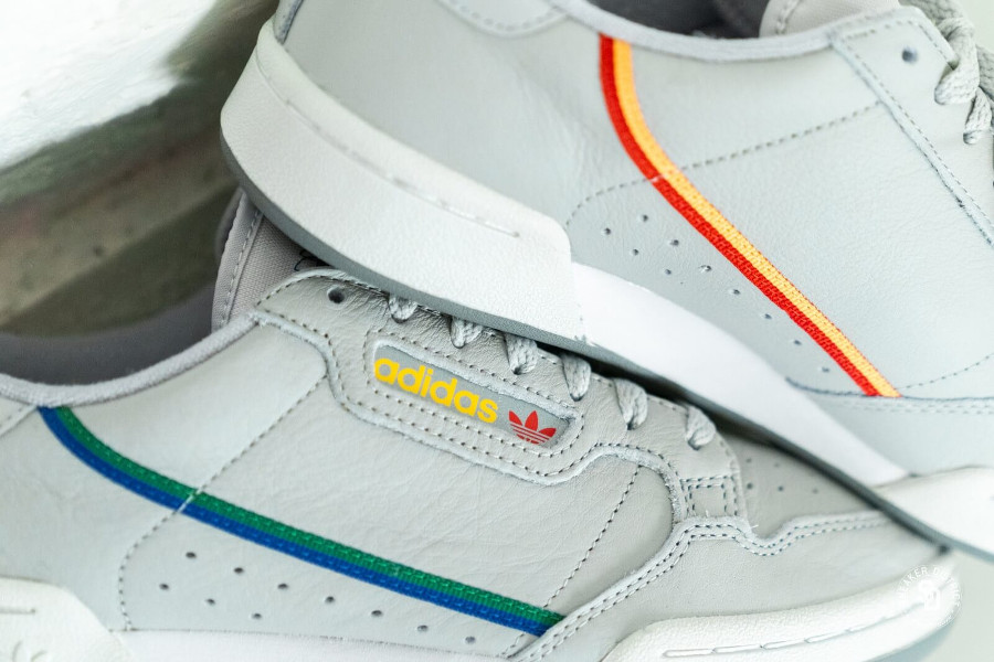 Adidas Continental 80 Grise Grey Two Multicolor (2)