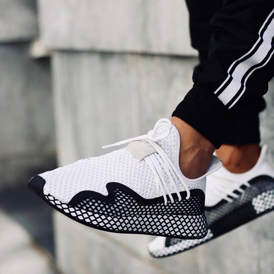 Adidas Deerupt S blanche et noire (3)