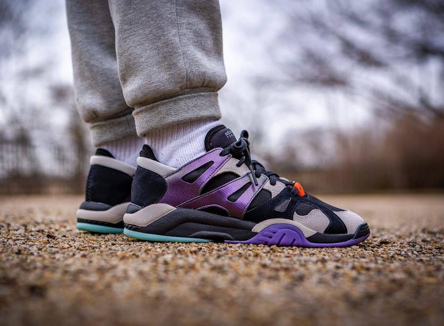 Adidas Dimension Lo Top Core Black Active Purple (1)
