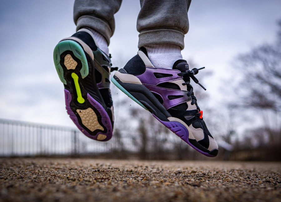 Adidas Dimension Lo Top Core Black Active Purple (4)