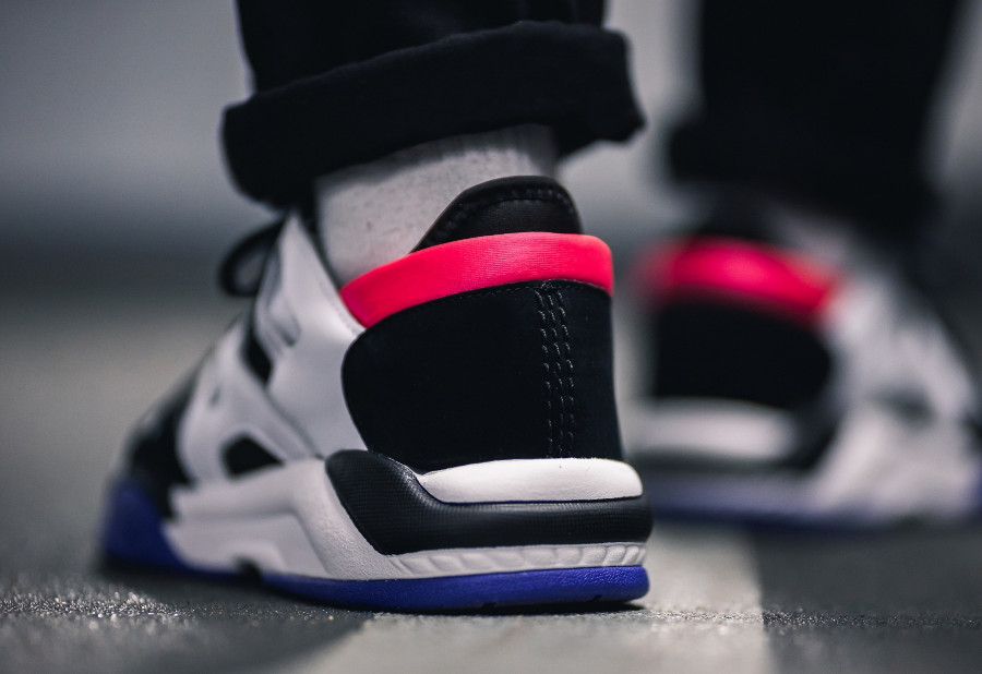 Adidas Dimension Lo Top Ftwr White Core Black Active Blue (1)