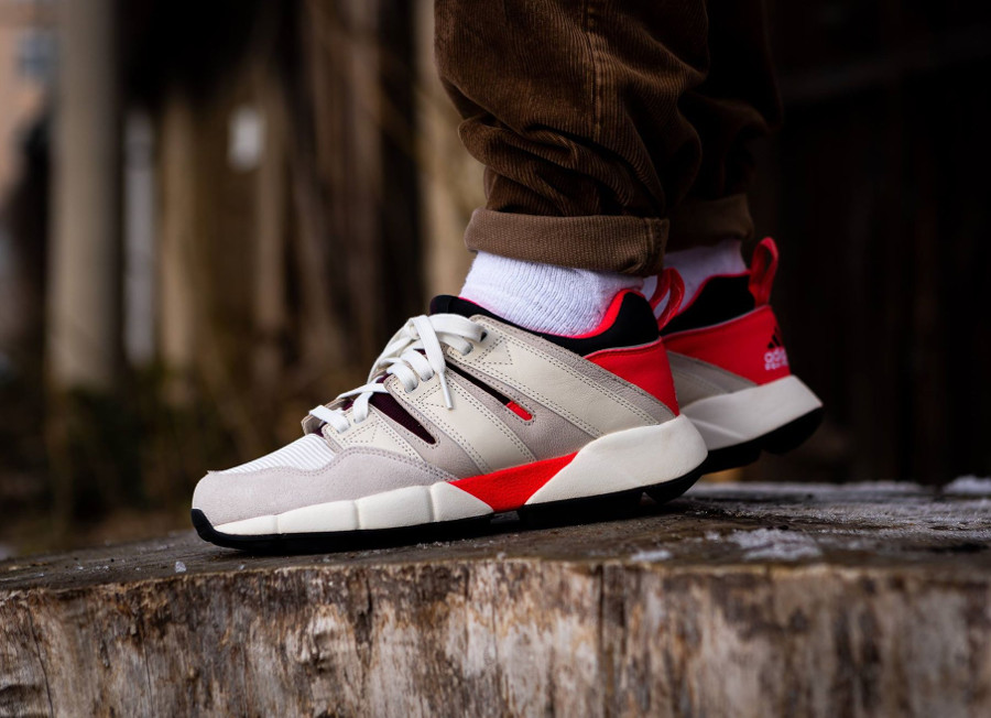 Adidas EQT Cushion 2.0 (Off White/Shock Red/Clear Brown)
