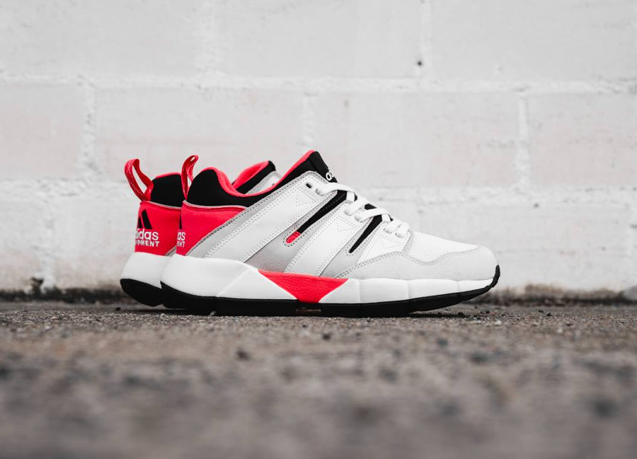 Adidas Equipement 2019 White Red Brown (3)