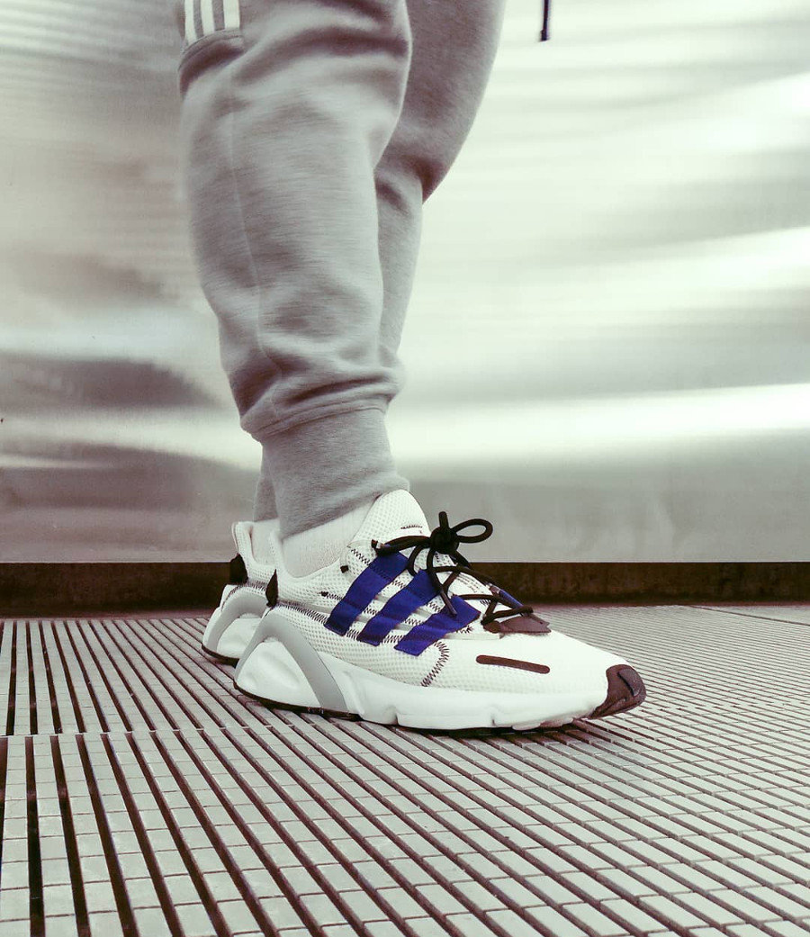 Adidas Lxcon White Active Blue - @fluffyastarias