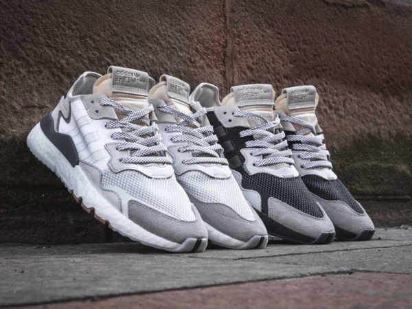 Adidas Nite Jogger 3M Black Carbon et White Crystal