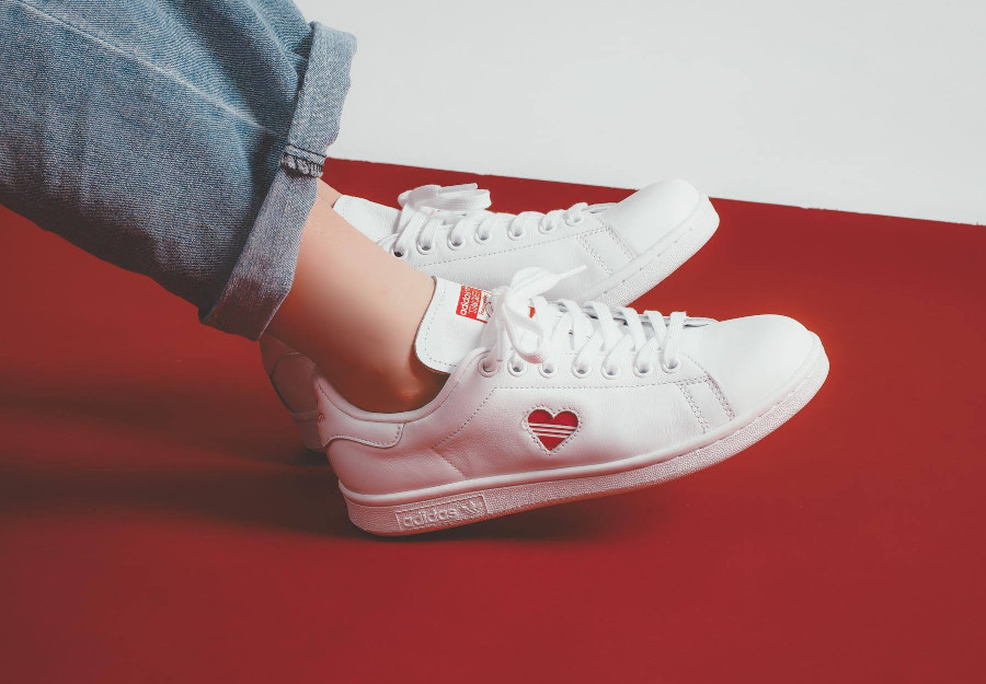 Adidas Stan Smith W FTWR White Valentine's Day