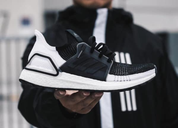 Adidas UltraBoost 19 Oreo Core Black Grey Six (couv)