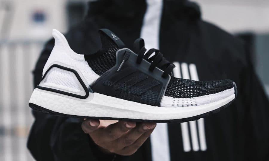 Adidas UltraBoost 19 Oreo Core Black Grey Six (couv)