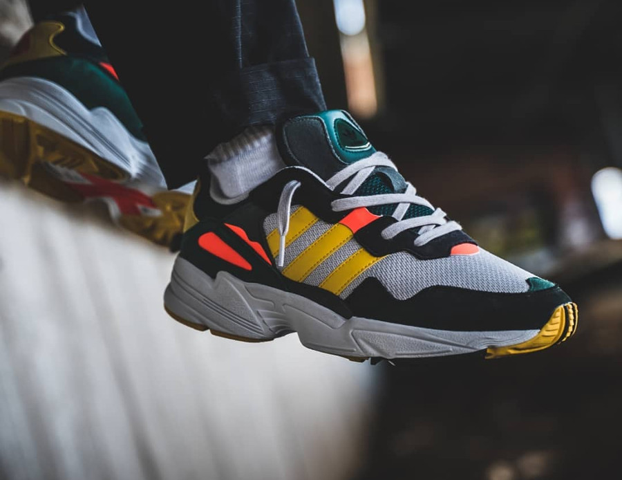 Adidas Yung 96 'Bold Gold Grey One Solar Red'