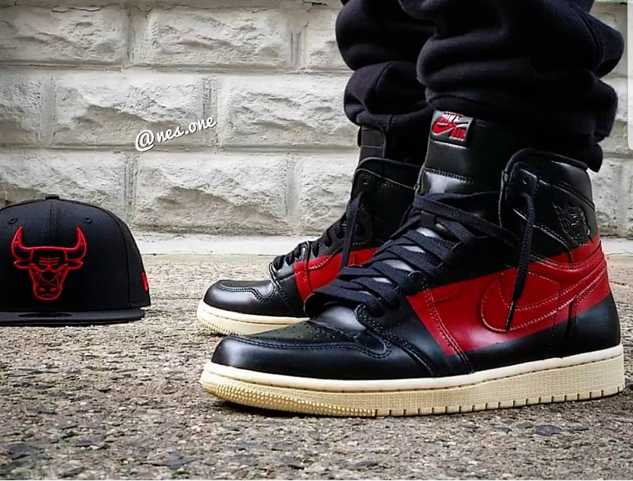 Air Jordan 1 High Couture on feet (1)