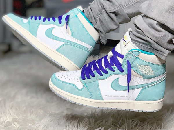 Air Jordan 1 SP 19 OG Turbo Green Flight Nostalgia (couv)