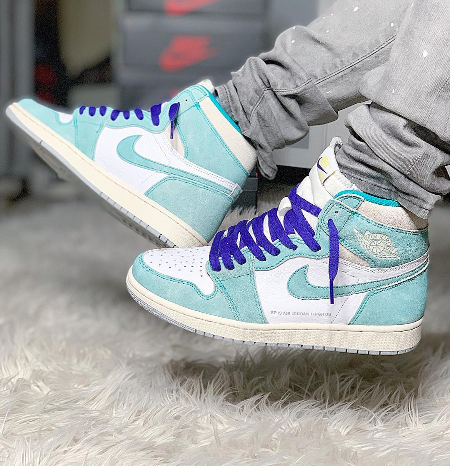 Air Jordan 1 SP 19 OG Turbo Green Flight Nostalgia