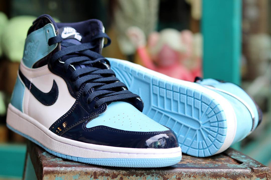 La Air Jordan 1 High UNC Patent Leather Blue Chill : faut-il l'acheter ?