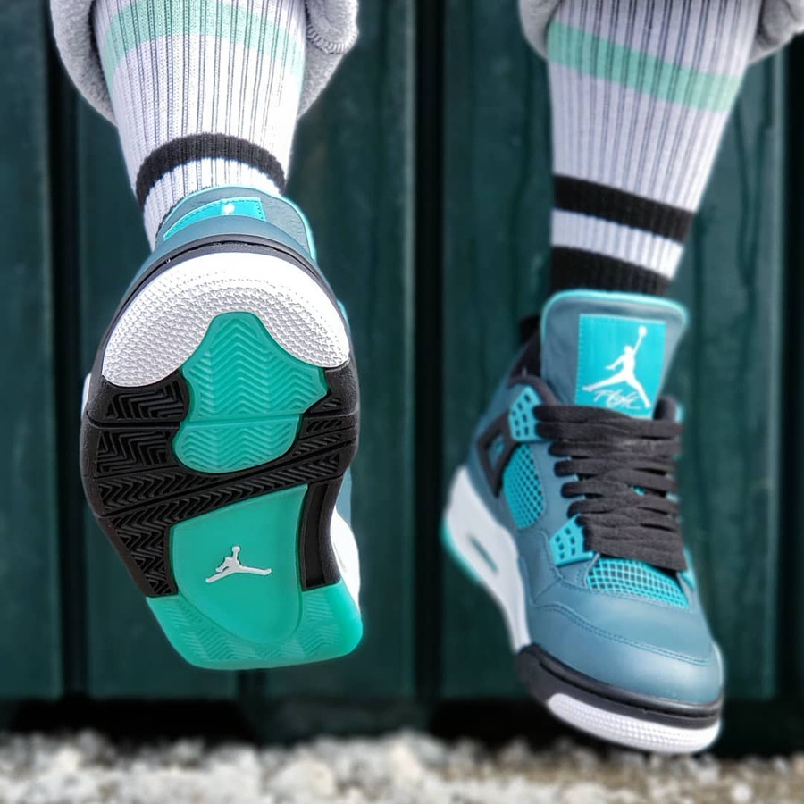 Air Jordan 4 Retro 30th Teal - @flippinlaces
