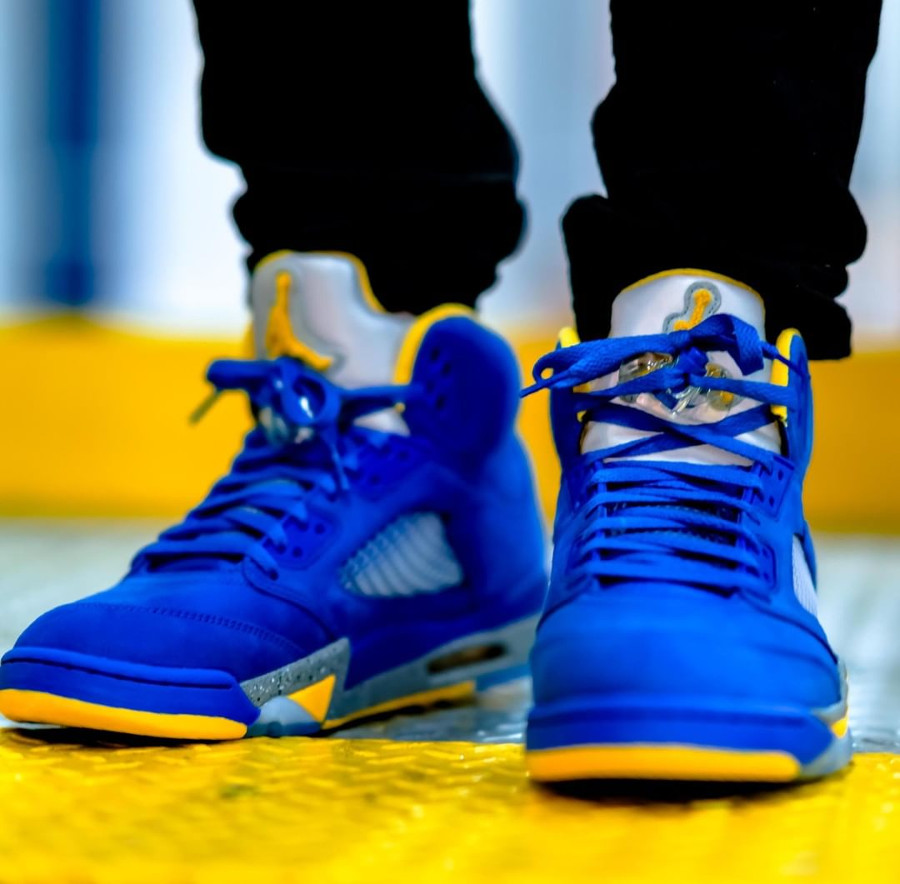 Air Jordan 5 Laney 2019 ASG Varsity Royal Varsity Maize (3)