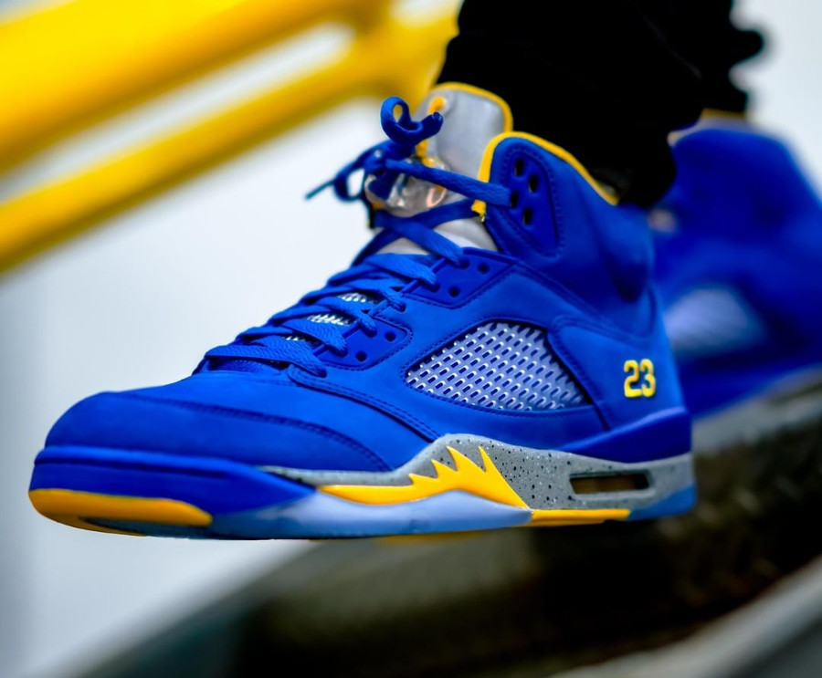 Air Jordan 5 Laney 2019 ASG Varsity Royal Varsity Maize (4)