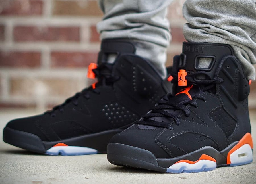 Air Jordan 6 Retro Black Infrared 2019 'Nike Air'