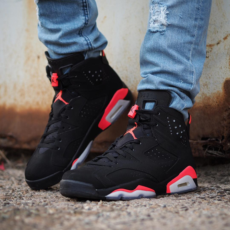 Air Jordan 6 Retro Black Infrapink 2014 - @iamcooz