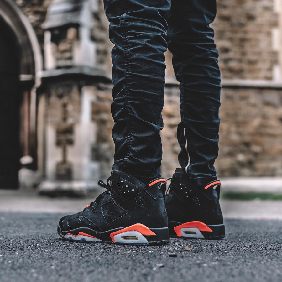 Air Jordan 6 Retro Black Infrapink 2014 - @inspiringkicks