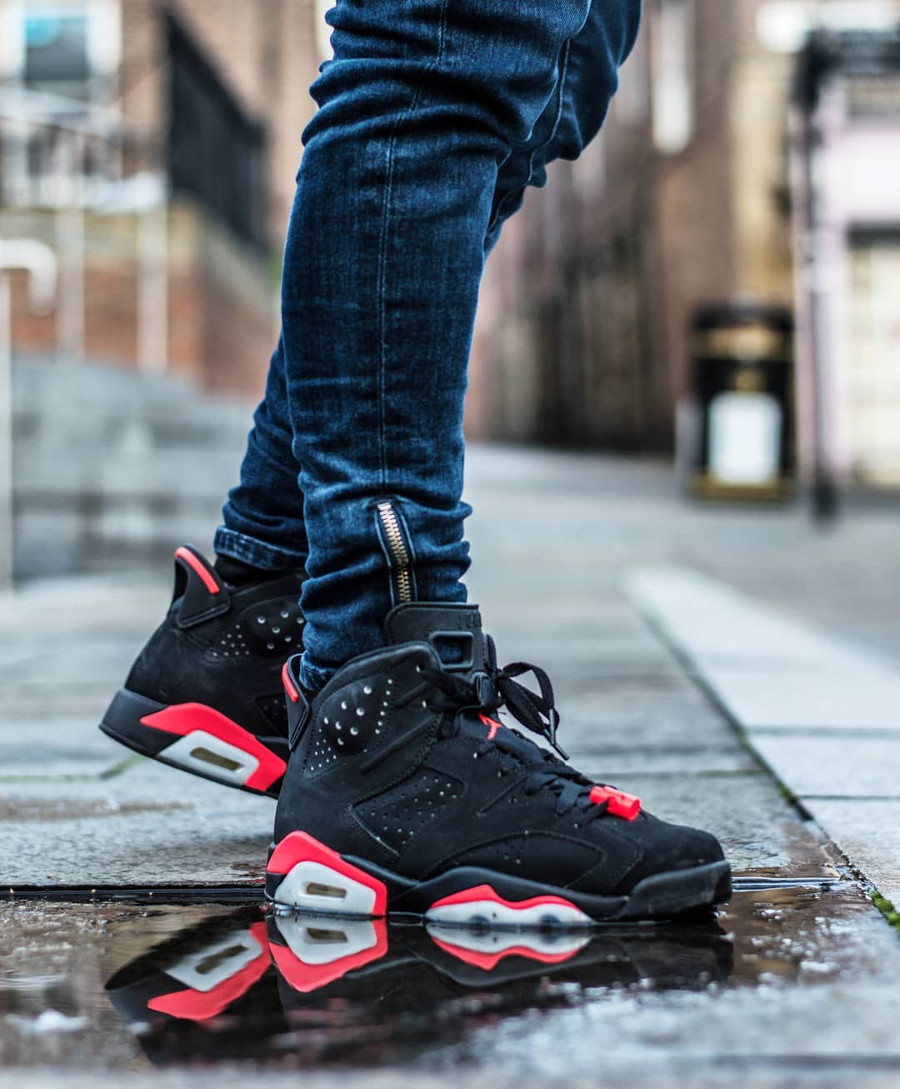 Air Jordan 6 Retro Black Infrapink 2014 - @itsjvelasco