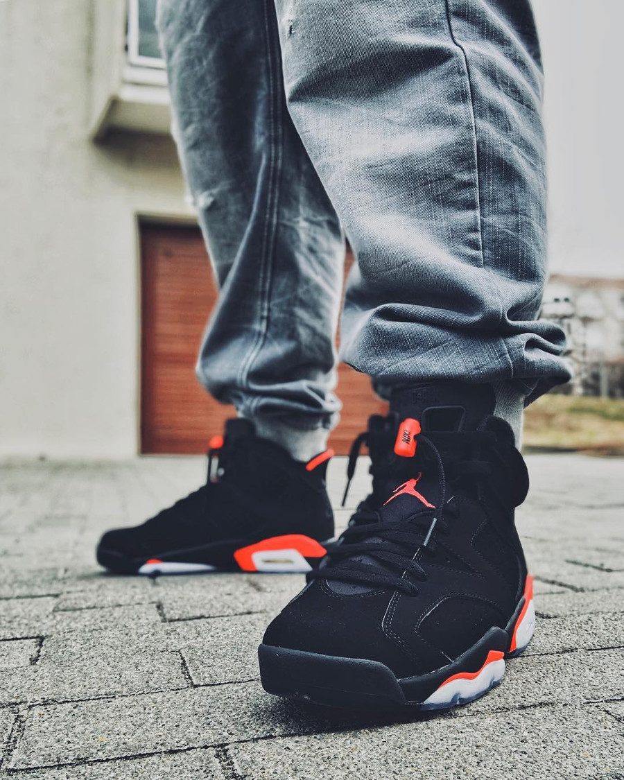 Air Jordan 6 Retro Black Infrared 2019 - @brumi86
