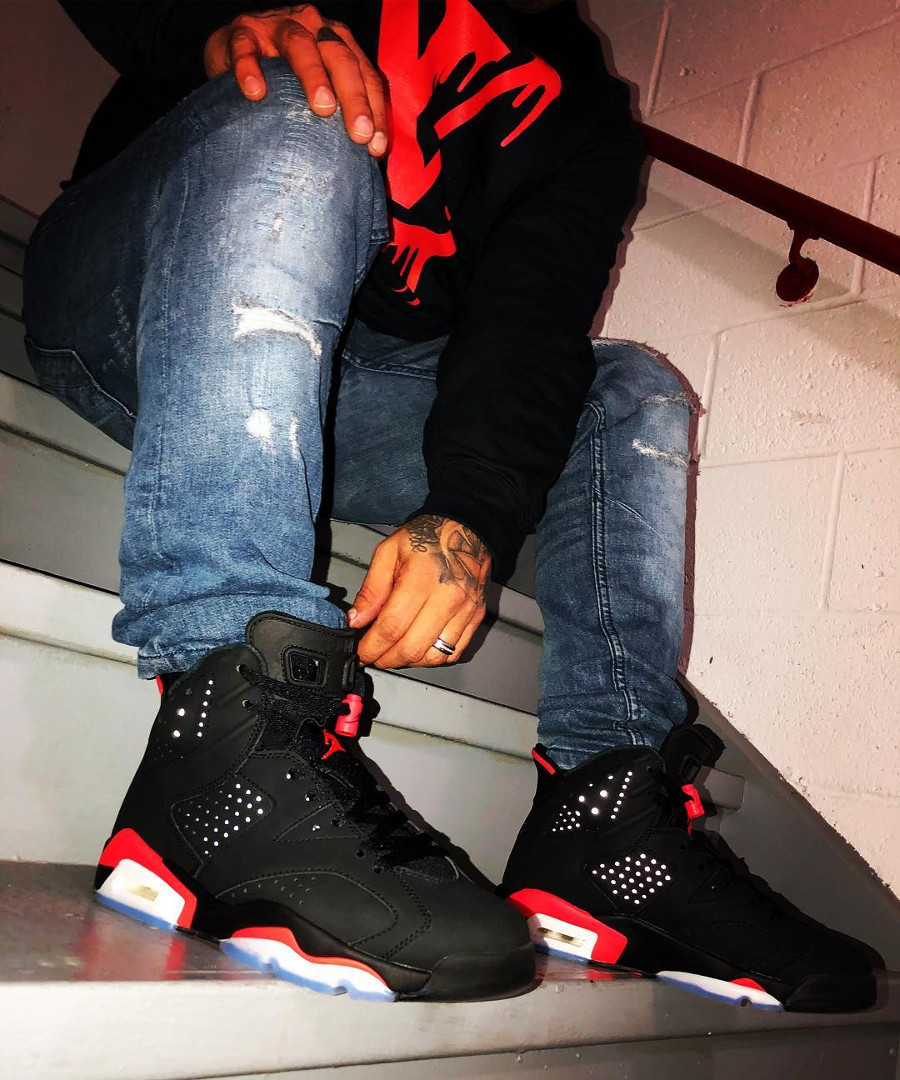Air Jordan 6 Retro Black Infrared 2019 - @stylish_muzik
