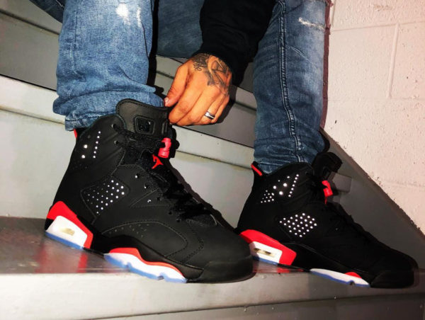 Air Jordan 6 Retro Black Infrared 2019 (couv)