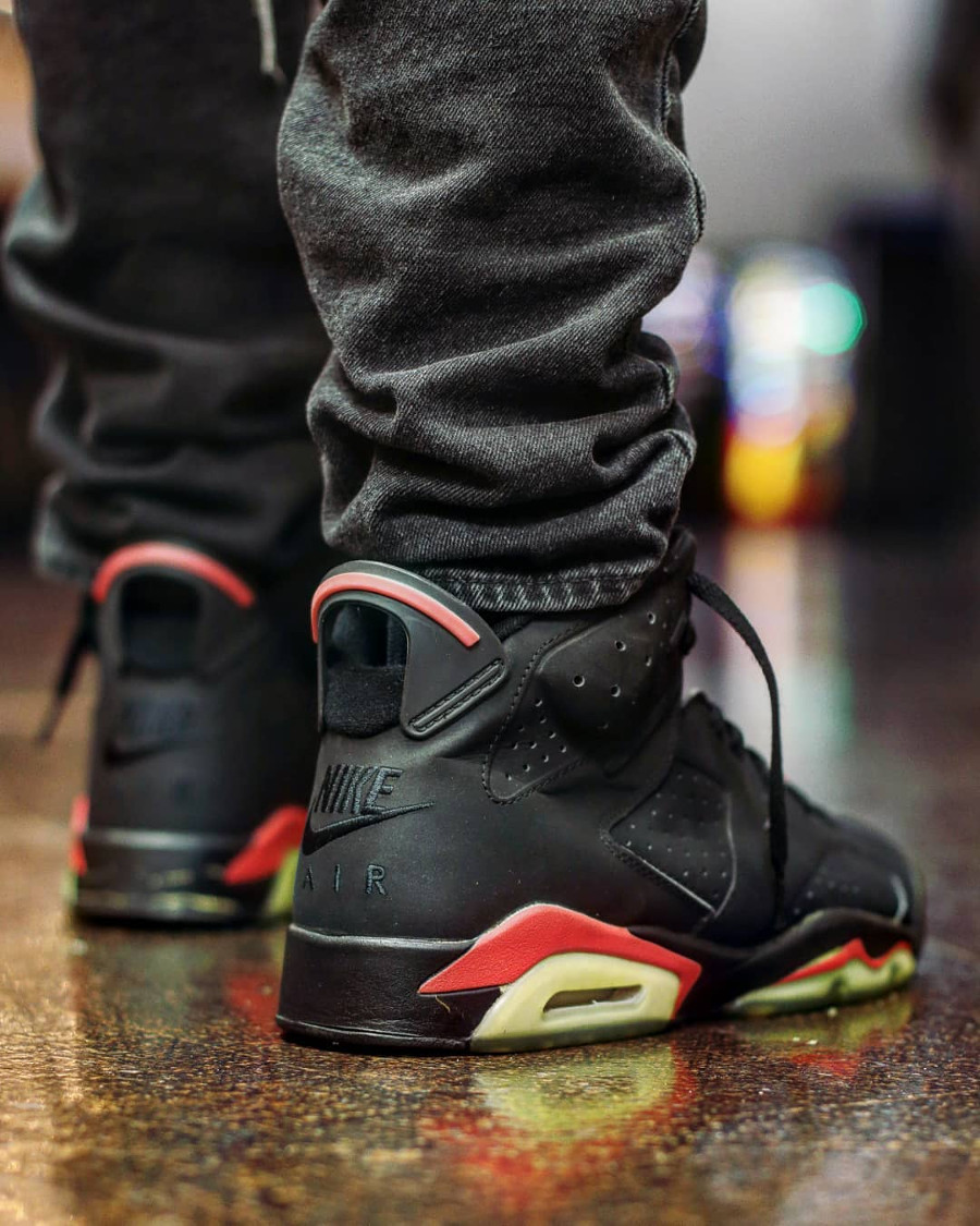 Air Jordan 6 Retro Black Infrared Nike Air 2000 - @thecarolinaboy