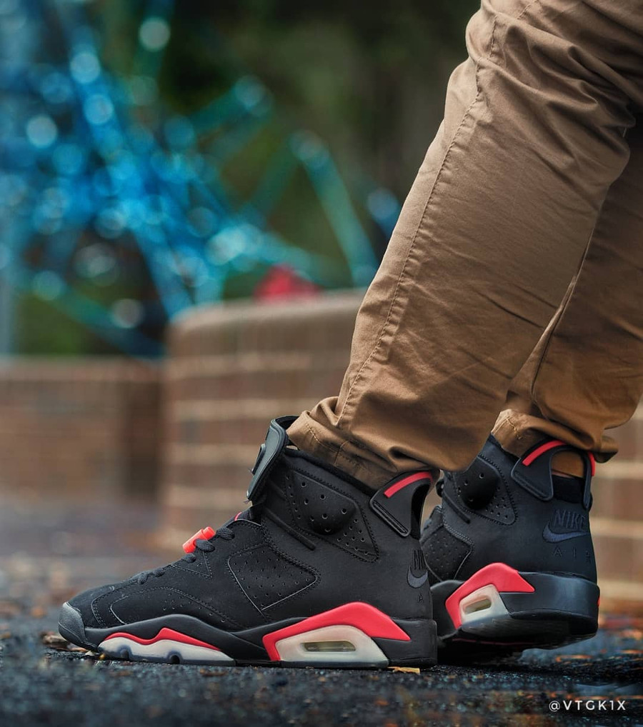 Air Jordan 6 Retro Black Infrared Nike Air 2000 - @vtgk1x