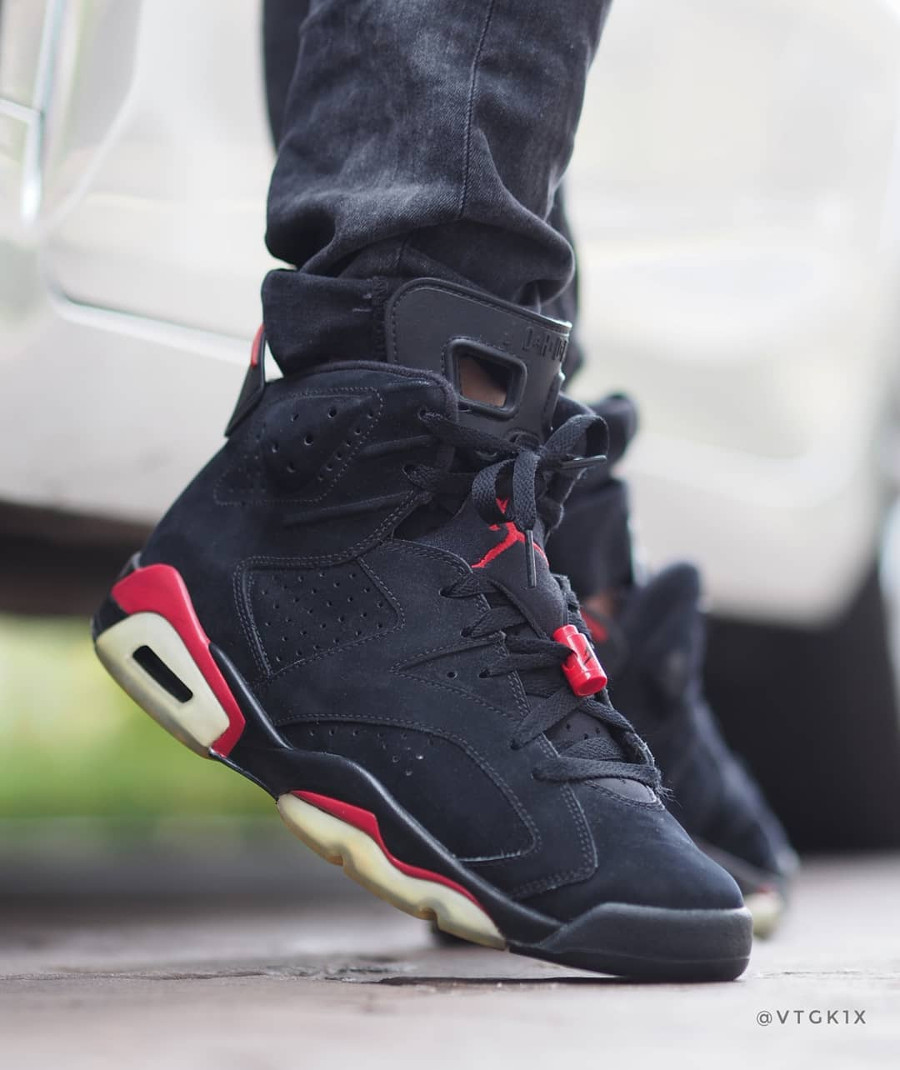 Air Jordan 6 Retro Black Varsity Red 2010 - @vtgk1x