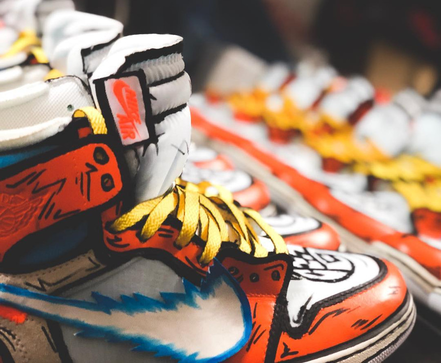 Dragon Ball Z x Air Jordan 1 Off White 'Goku' (3)