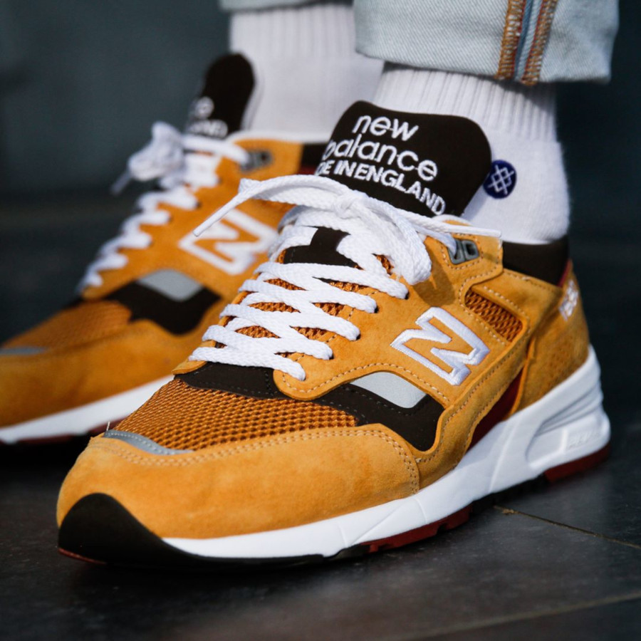 New Balance 1530 Curry made in UK (2)