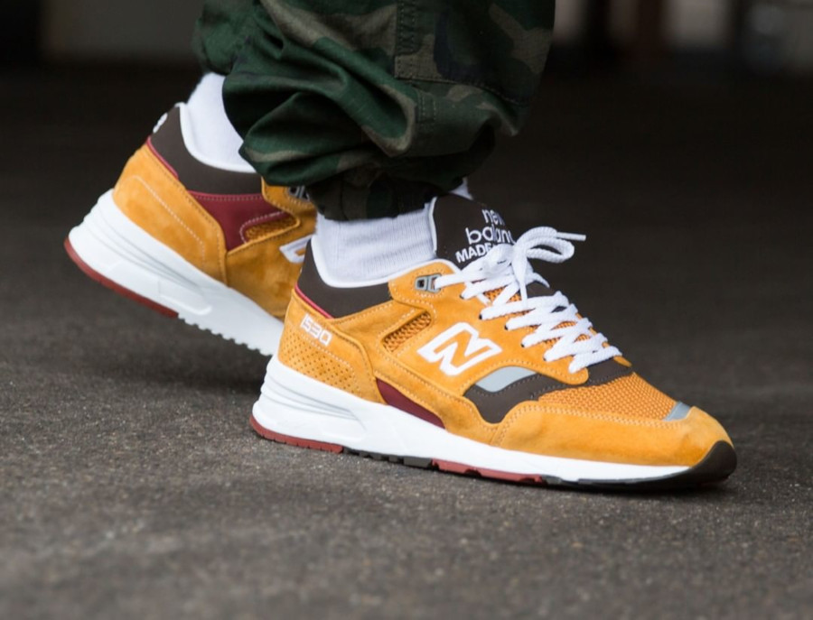 New Balance 1530 Curry made in UK