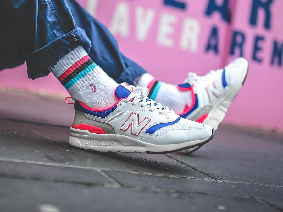 new balance 997h homme blanche