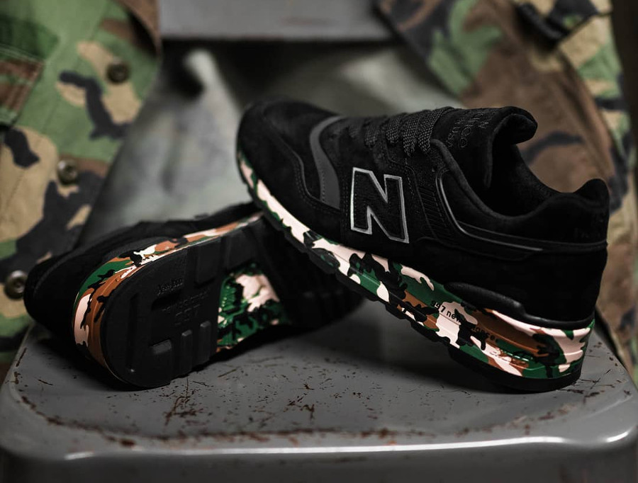 New Balance 997 'Modern Camo' Military Pack (made in USA)
