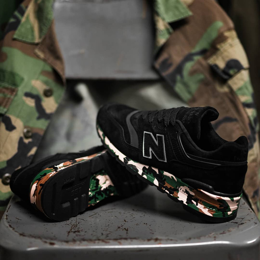 New Balance M997CMO 'Modern Camo' Military