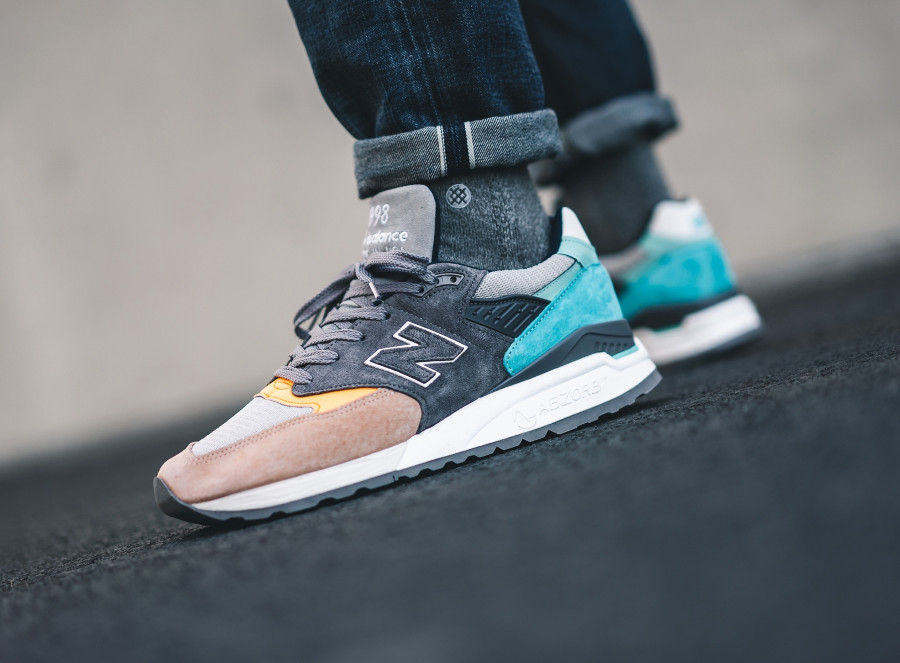 New Balance M998AWB Grey Multicolor (made in USA)