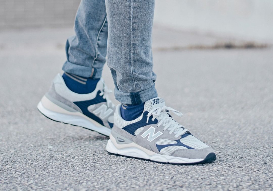 New Balance X-90 Reconstructed Marblehead Pigment (5)