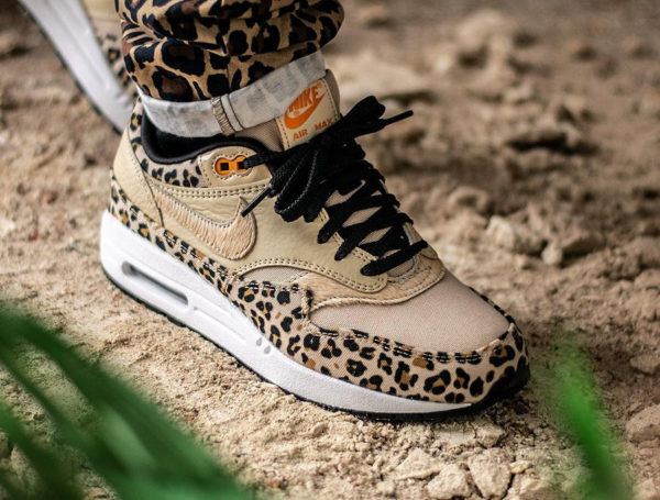 brand new 0a5b9 70e0b Nike Air Max 1 PRM Animal Leopard 2019 Desert Ore