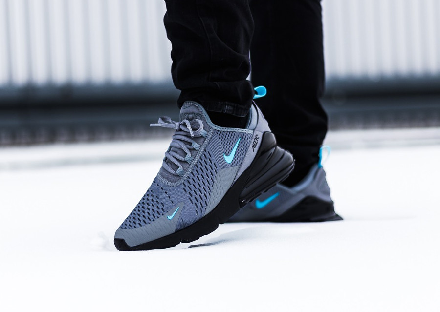 Nike Air Max 270 Cool Grey Blue Fury