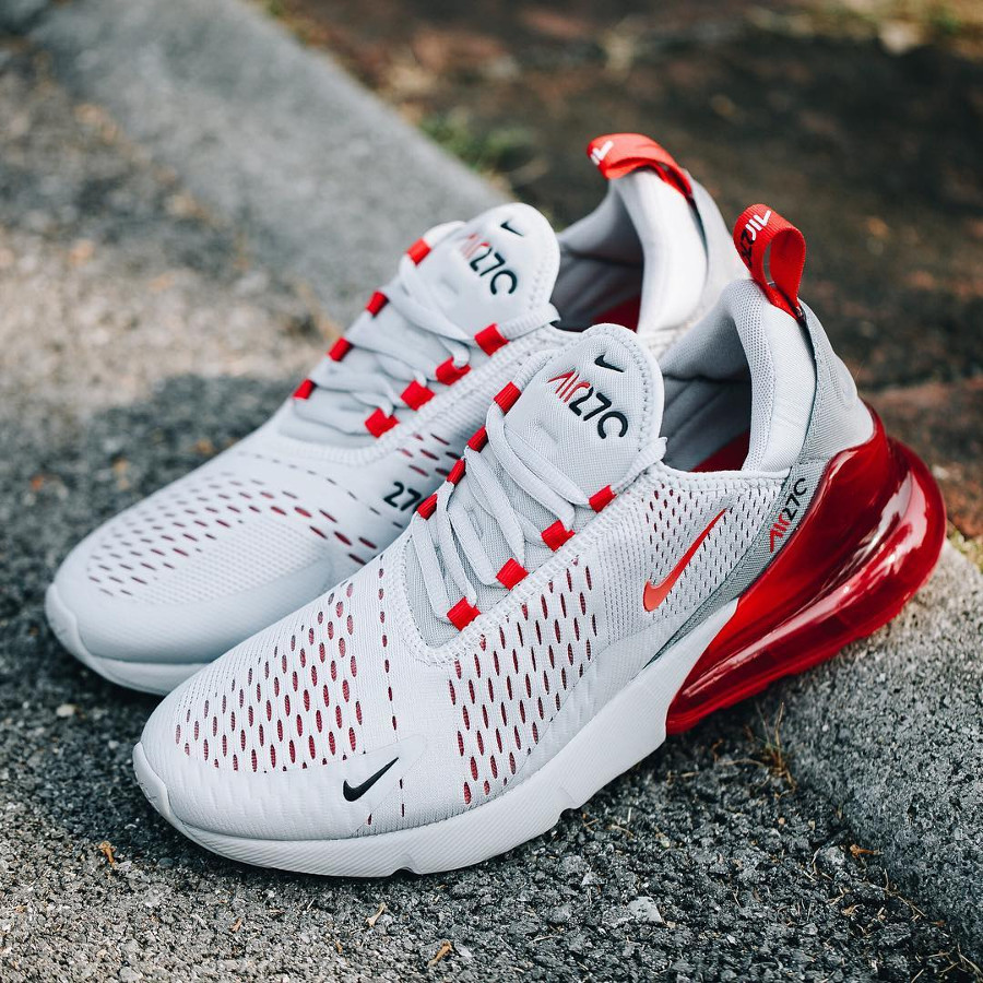 factory outlet so cheap a few days away Faut il acheter la Air Max 270 Wolf Grey University Red ...