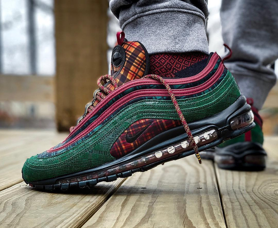 Nike Air Max 97 NRG Jacket Pack 'Team Red Midnight Spruce'