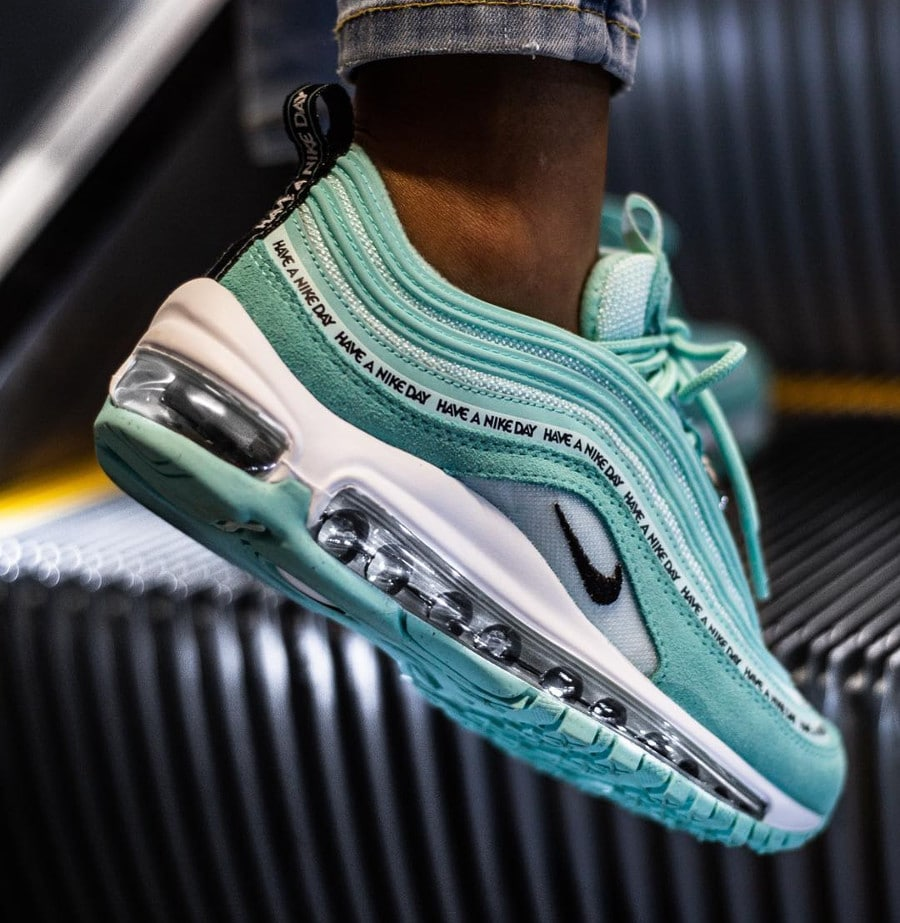 Nike Air Max 97 SE GS tropical Twist Teal Tint Black