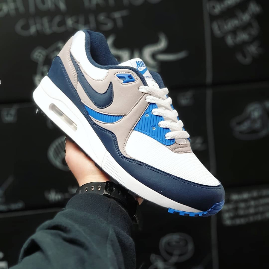 Nike Air Max Light OG White Obsidian Atmosphere Grey (1)