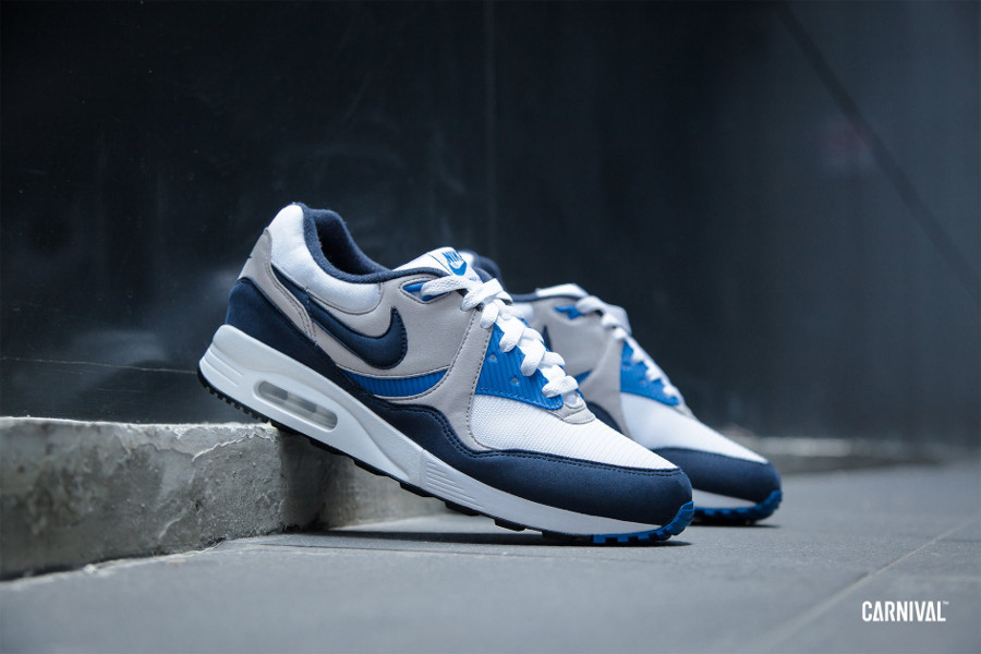 Nike Air Max Light OG White Obsidian Atmosphere Grey (2)