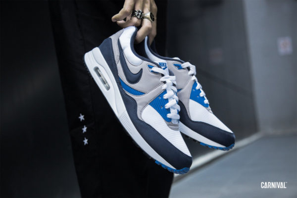 Nike Air Max Light OG White Obsidian Atmosphere Grey (3)