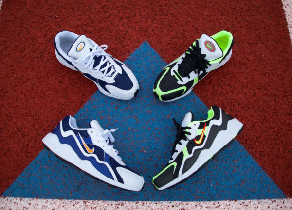 finest selection 32327 cd0a1 Nike Air Zoom Alpha Binary Blue et Black Lime. 4 mai 2019.  FacebookTwitterPinterest